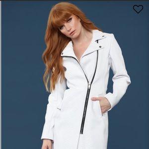 NEW White Snake Coat